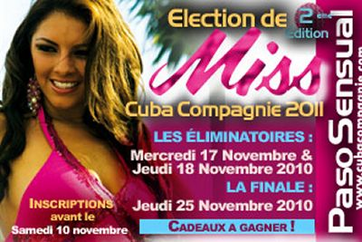 Election de Miss dans un restaurant cubain