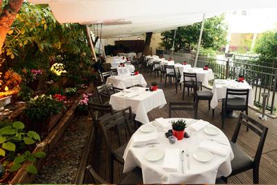 Restaurant danois avec grande terrasse et jardin for Resto avec jardin