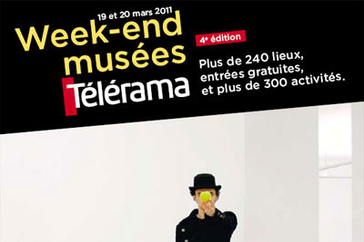 week end gratuit musees telerama