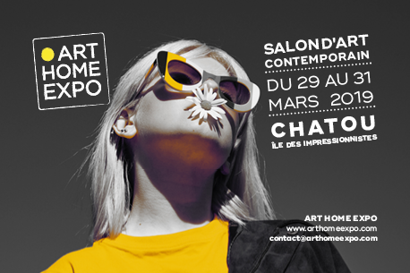 Invitation gratuite pour le Salon d'Art Contemporain de Chatou du 29 au 31 mars 2019
