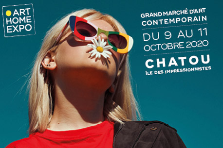 Invitation gratuite pour le Salon d'Art Contemporain de Chatou