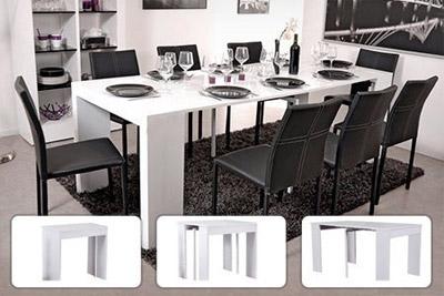 table console extensible pas ch re partir de 99 90 au. Black Bedroom Furniture Sets. Home Design Ideas