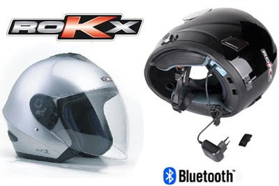 casque moto rokx avec bluetooth int gr d s 69 90 au lieu de 159. Black Bedroom Furniture Sets. Home Design Ideas