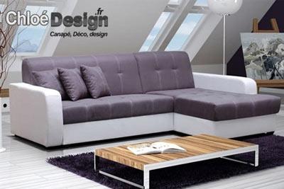 canap d angle 5 places convertible chlo design 539 au lieu de 1190. Black Bedroom Furniture Sets. Home Design Ideas