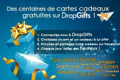 Avec dropgifts offrez des cartes cadeaux gratuitement for Faites vos propres plans gratuitement