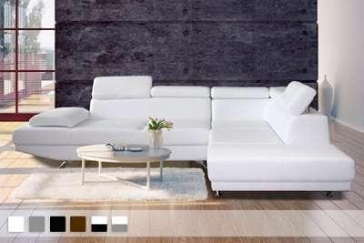 canap d angle sofia 6 places en simili cuir 549 90 au lieu de 1108 65. Black Bedroom Furniture Sets. Home Design Ideas