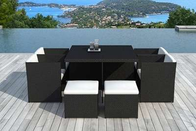 salon de jardin encastrable delorm design d s 499 90 au lieu de 1190. Black Bedroom Furniture Sets. Home Design Ideas