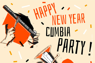 happy new year cumbia party le chinois