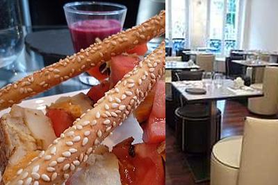 restaurant insolite paris avec cuisine cr ative tremper. Black Bedroom Furniture Sets. Home Design Ideas