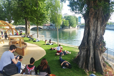 parc rives de seine paris