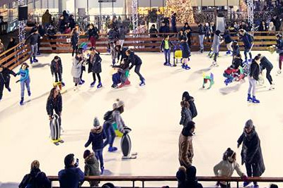 Patinoire gratuite à Paris