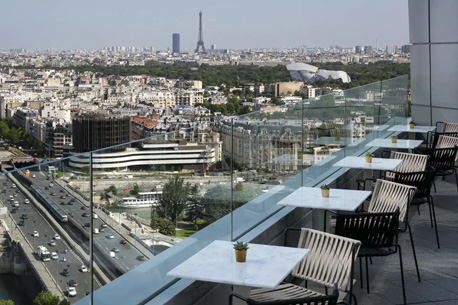 skyline bar vue sur paris