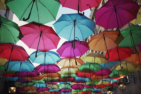 village royale parapluies