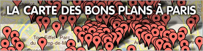 carte bon plan paris